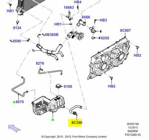 Ford Oem 1114 F150 50lv8 Radiatorhose Bl3z8c350a Ebay. Is Loading Fordoem1114f15050l. Ford. 2015 Ford F150 Engine Diagram At Scoala.co