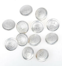 WWI Imperial German Prussian Crown Officer Button 18mm 12pcs