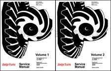 1969 1970 1971 Dodge Truck Repair Shop Manual Pickup Power Wagon
