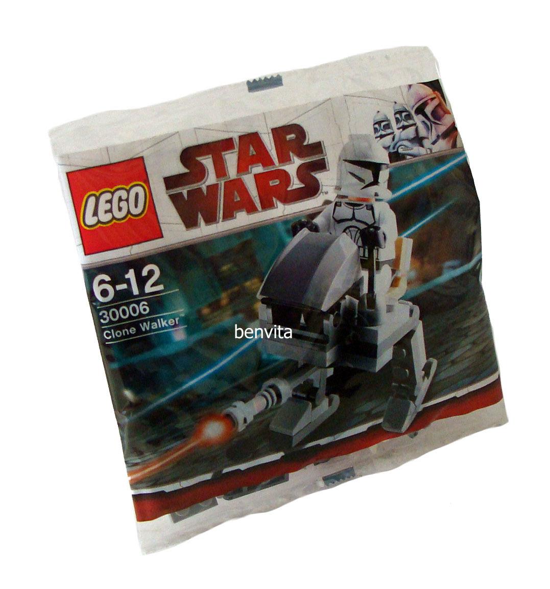 Lego Stjärnornas krig 30006 - Clone promänader 30 Teile 6 -12 Jahren Neu  New