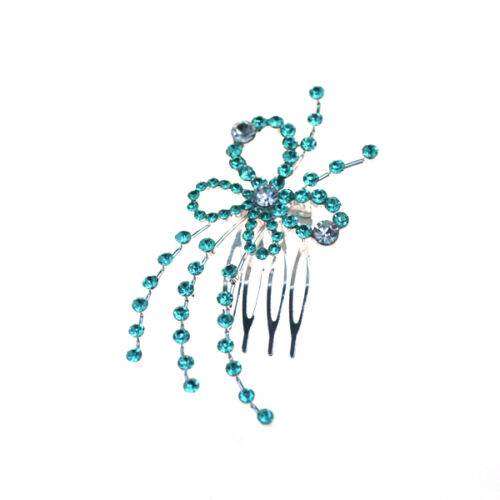 Ladies Hair Combs Fashion Accessories Diamante Slides Clips Head Pieces Wedding