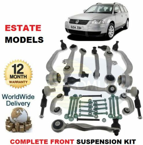 FOR VW PASSAT Estate Models FRONT LOWER /& UPPER SUSPENSION ARMS /& LINKS /& BOLTS