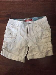 Unionbay-White-Shorts-Girls-12-Reg