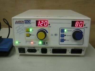 Aaron 1250 A1250 Hochfrequenz Elektrochirurgische Erzeuger Fußschalter Bovie Esu Produkte Werden Ohne EinschräNkungen Verkauft