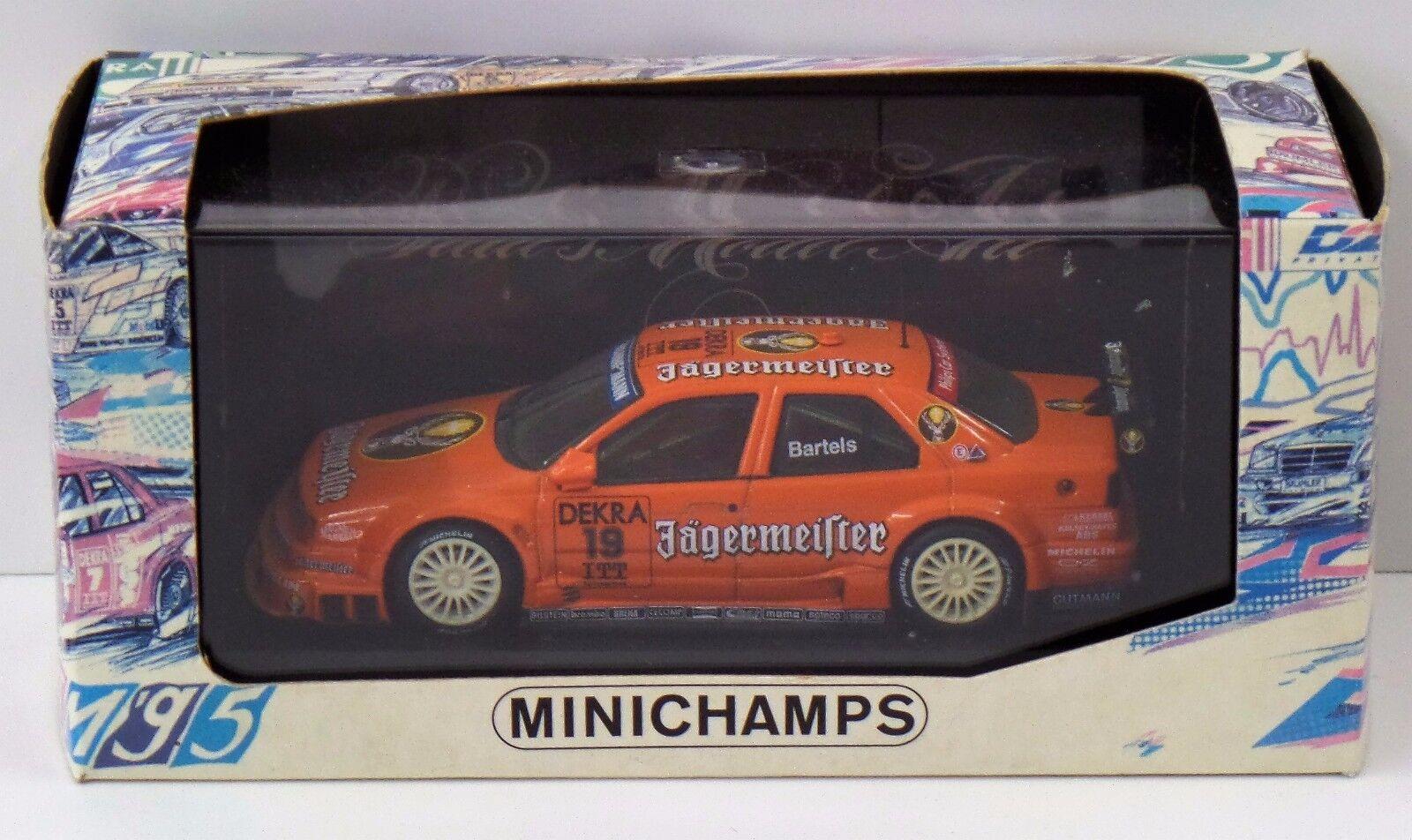 Minichamps 1 43 - ALFA ROMEO 155 v6 TI CHASSEUR maître Edition-Neuf dans sa boîte Neuf New