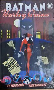 BATMAN-AND-HARLEY-QUINN-TY-TEMPLETON-BOOK-NEW