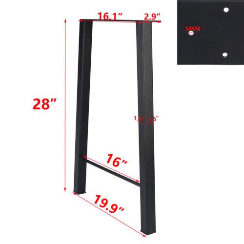 "16/"" 22/'/' 28/"" Industry Table Leg Metal Steel Chair Bench Legs DIY furniture 2PCS"