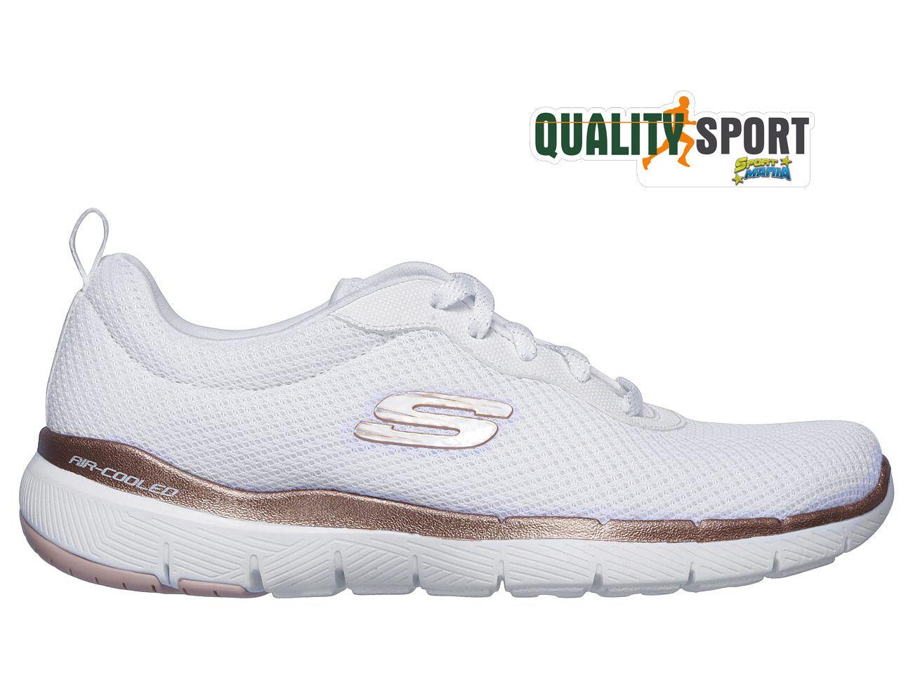Skechers Skechers Skechers Flex Appeal 3.0 Bianco zapatos mujer Sportive Palestra 13070 WTRG 2019  precio mas barato