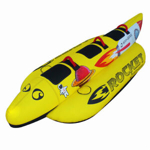 Spinera-Rocket-3P-Towable-Tube-Banane-fuer-3-Personen