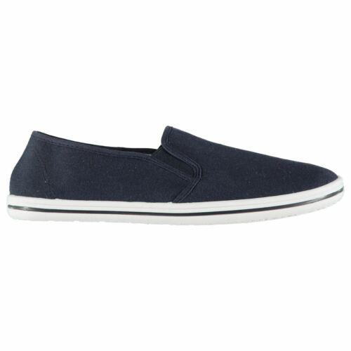 Slazenger Mens Slip On Canvas Shoes Pumps Lightweight Low Profile Comfortable