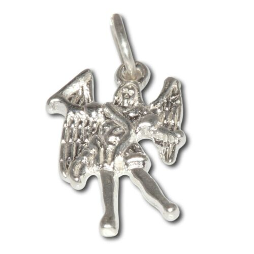 Sterling Silver .925 Archangel Miguel, Michael, Angel of Leadership Necklace
