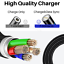 miniature 4 - 3Pack 3/6Ft Magnetic Charger Cable USB Fast Charging Cord For Apple iPhone 11 XR