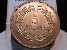 ZZ 691(29) - 5 FRANCS - LAVRILLIER - Br/ALU - 1940 - RARE QUALITE SUP+ !