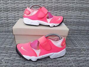 Nike Air Rift Pink Ladies Trainers UK