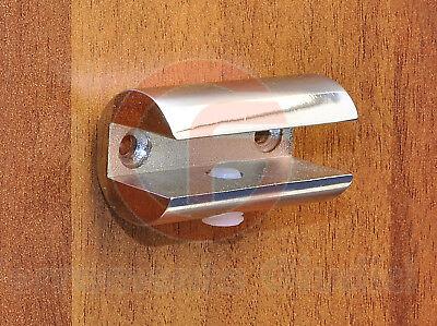 Reggimensola Vetro Ikea.Reggimensola Per Vetro Cromo Lucido Harmony Per Mensole Ebay
