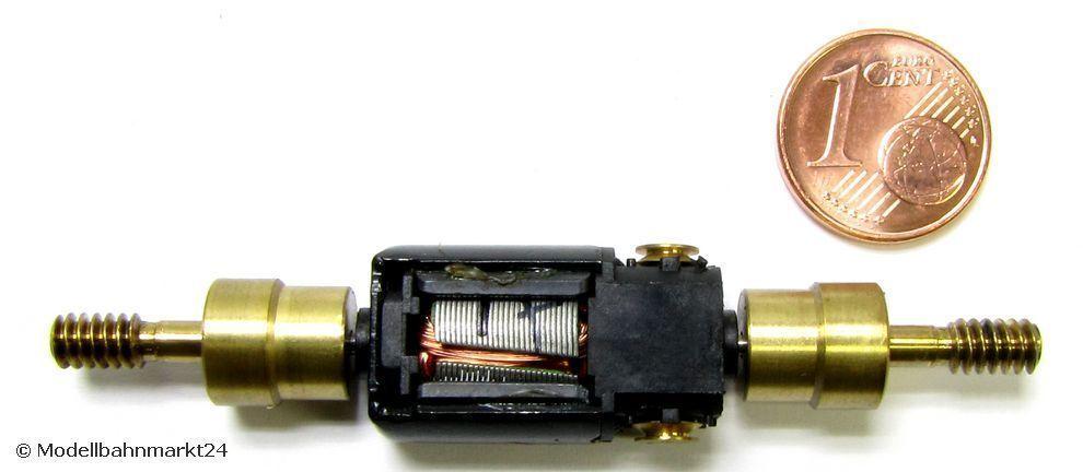 MINITRIX 11123 Ersatz-Motor 2 x Schwungmasse für Elektrolok BR 185 545-1 Spur N