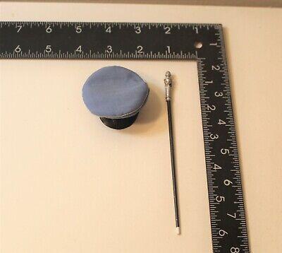 1//6 BBI GERMAN LUFTWAFFE CLOTH GARRISON SIDE CAP HAT W// INSIGNIA WW2 DRAGON DID