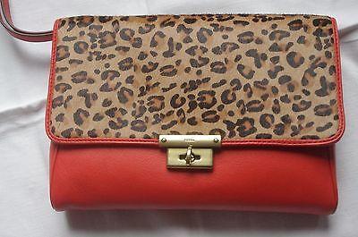 FOSSIL - SL4326820 - Memoir HC Clutch- Damen Handtasche- Bag-Bright Orange *NEU*