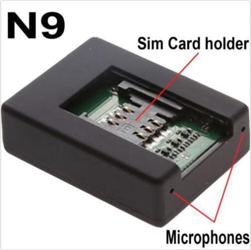N9 Mini GSM Spy Audio Listening Bug 2x Sensitive Microphone for Uk/eu/us SIM