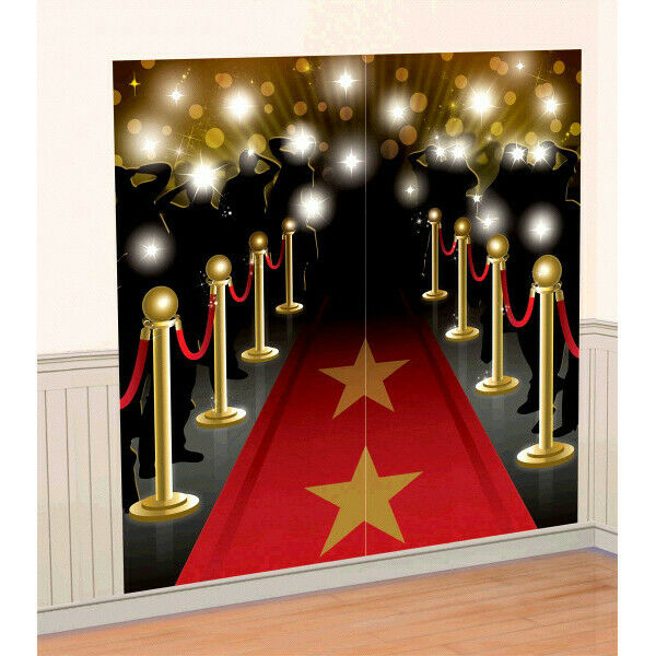 Hollywood Red Carpet Paparazzi Backdrop Party Decoration Photo Prop Award Night For Sale Online Ebay