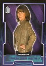 Doctor Who TOPPS 2015 viola parallelo 44 Sarah Jane Smith (75/99)