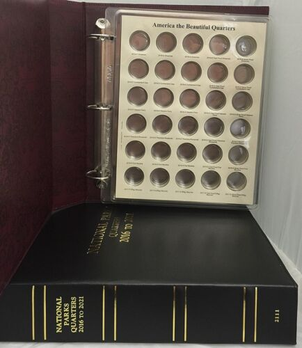 CAPS Album National Park Quarters with Proofs 2016-2021 Volume 2 2111