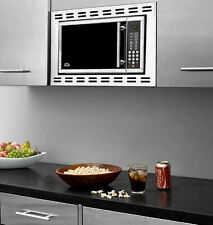Summit OTR24 Built In Microwave Oven 900 Cooking Watts Stainless Steel