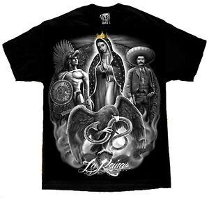 DGA-David-Gonzales-LA-Reina-Mexico-Aztec-Warrior-Emiliano-Zapata-Mexican-T-Shirt