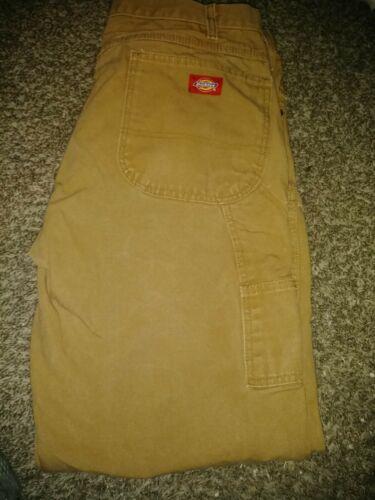Dickie carpenter pants 38x30 brown