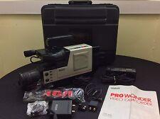Great Working VTG 1987 RCA Pro Wonder Complete VHS Video Camcorder CPR300 System