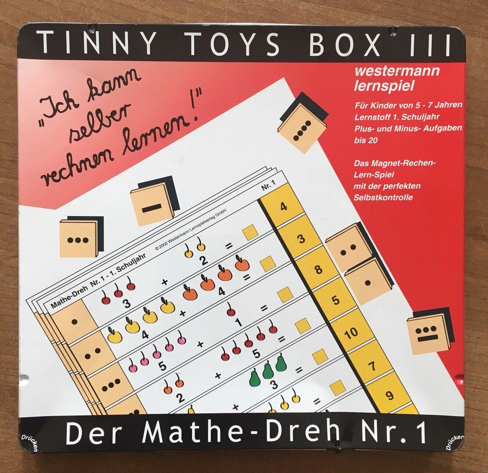 Tinny Westermann Toys Box III Westermann Tinny Lernspiele Mathe Bis 20 3 7cc544