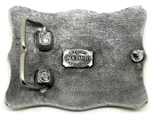 Jack Daniel`s Belt Buckle Old No.7 Brand Scrolled Authentic Officially Licensed