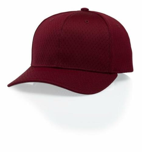 Richardson Pro Model OnField Scarlet Baseball Softball Blank Mesh Red Hat Cap ML