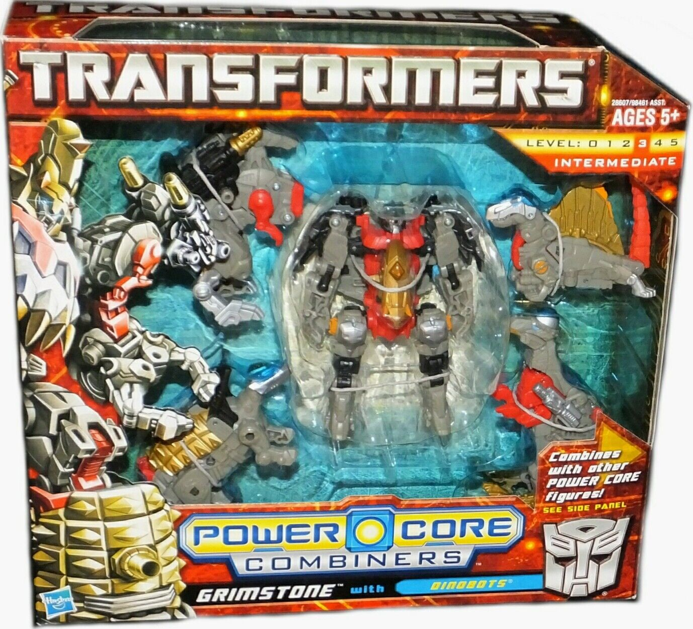Núcleo de alimentación de Transformers Combiners Grimstone Con Dinobots sello de fábrica 2010 Nuevo