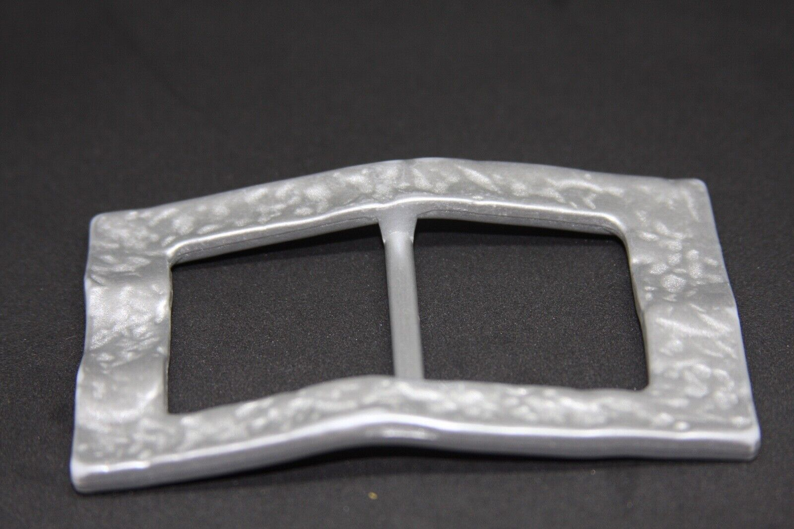 Woman`s silver, plastic, Italy, belt buckle