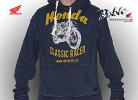 Genuine Honda Merchandise Top Quality Vintage Retro Style Hoodie Sweat Shirt
