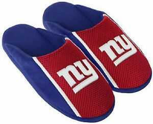 New-York-Giants-NFL-Mens-Jersey-Slide-Slipper-Adult-Sizes