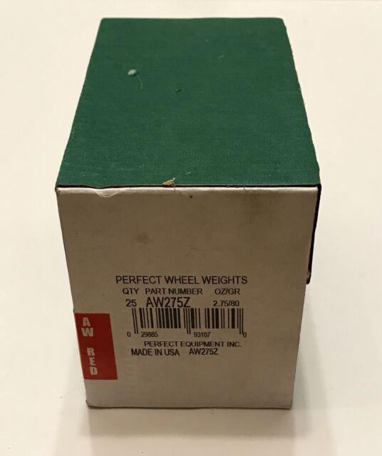 Perfect AWZ AW Zinc Wheel Weights .75oz NEW
