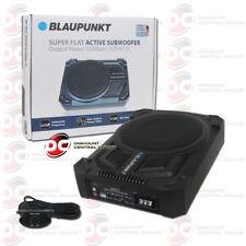 "Blaupunkt GTHS131 8"" Super Slim Amplified Powered Subwoofer Under Seat Remote"