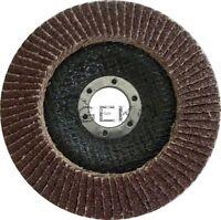 Fächerscheibe 115/125 Korn 36-100 Schleifscheiben  Fächerscheiben Metall Holz