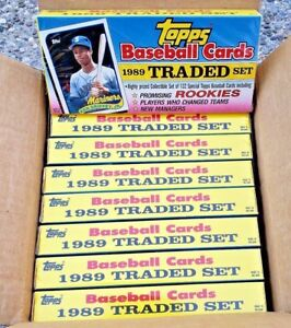 Case-of-16-Sealed-Sets-of-Topps-Baseball-Cards-1989-Ken-Griffey-Jr-Rookie-Cards