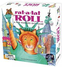 Rat-a-tat Roll Dice Board Game Ages 6 2-5 Players Gamewright