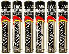 *FRESH* 6x Energizer AAAA Alkaline Batteries E96 Exp.12/2021 [USA SELLER]