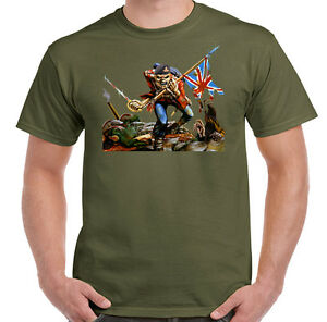 Royal-Artillery-The-Trooper-Mens-Army-T-Shirt-Military-British-Forces-Gunners