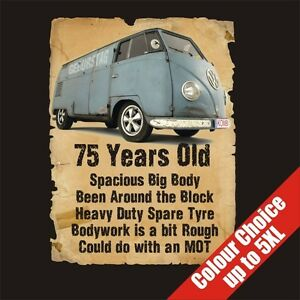 Image Is Loading 75 Year Old Transporter Funny 75th Birthday Gift