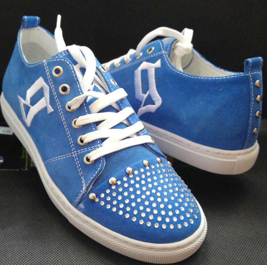 John GALLIANO Diseñador Zapatillas De Piel Azul para para para Mujer Talla 3UK (36EU) c0d4e3