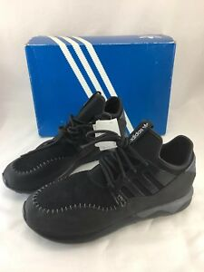official photos 8b101 8756a Details about Adidas Tubular Moc Runner Mens US Size 12 Black Running Shoes  Sneakers B24688