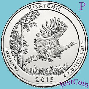2015 Kisatchie Nat Forest LA D America the Beautiful Quarter BU Uncirculated