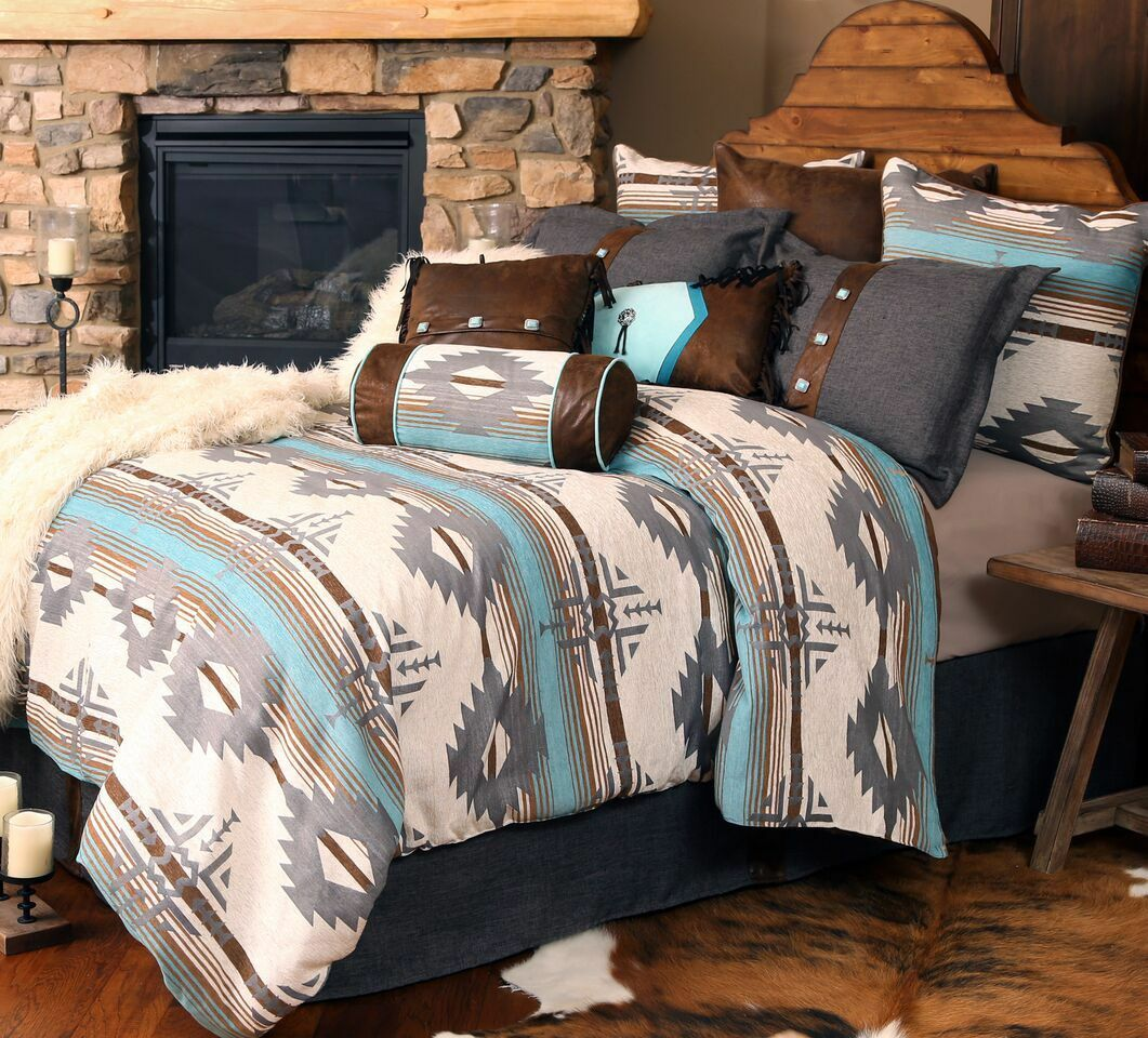 Badlands Southwest Comforter Set with FREE Sheets and Shipping