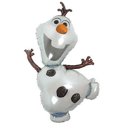 Disney Frozen Kids Birthday Supplies Olaf Super shape Foil Helium Balloon